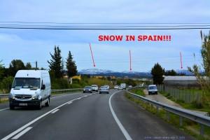 SCHNEE IN SPANIEN!!! Ende März 2018
