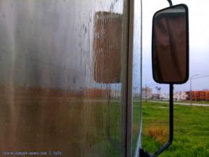 Rain at Cunit Playa -Spain