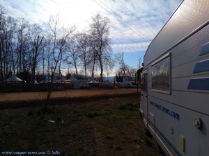 Parking in Area Sosta Camper in Tordera – Spain – May 2016 - (Plaça Sant Pere, 95, 08490, Barcelona, Spanien) - March 2018