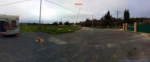 Parking in Arie Camping Cars Municipale - 2 Route de Bages - 11440 Peyriac-de-Mer – France – March 2018