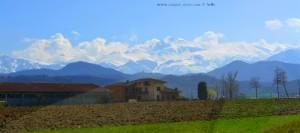 Schnee auf den Alpen – Italy