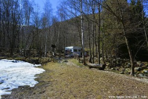 Kaffee-Pause im Schnee - Peveragno – Italy