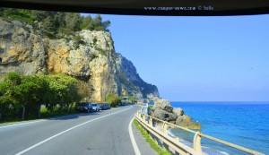 Auf der SS1 - Via Aurelia – Italy