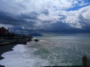 Noch immer dunkel in Genova – Italy