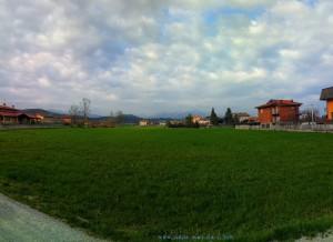 Bewölkt heute in Pianfei - aber das Wetter-App hatte dies auch prophezeit – Italy