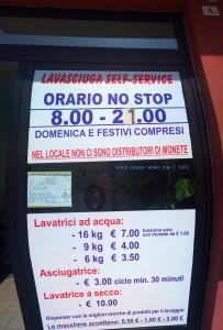 Lavasciuga Self-Service - Mondovì – Italy