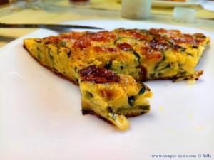 Hmmmm - lecker Frittata für Lunch - Genova – Italy