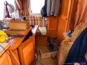 Chaos im Camper - Genova - Italy