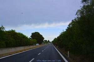 Ist das etwa blauer Himmel? Toskana verlassen - Lazio erreicht – Italy