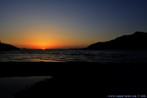Sunset in Platariá – Greece