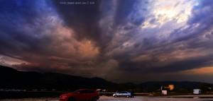 ...das sieht nach Gewitter aus - Platariá – Greece