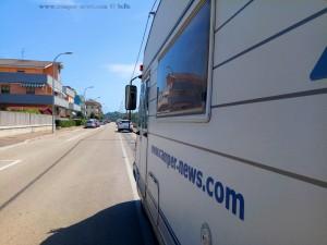 Endlich Sonne - Lunch am Strassenrand in Francavilla al Mare – Italy