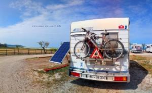 Parking in Area Sosta Camper Il Chiosco mare - Via Lungomare 168 Fossacesia - Chieti - Abruzzo - Italy - Mai 2018