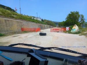 Kreisverkehr in Fossacesia - Italy