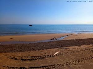 Da mündet der kleine Fluss ins Meer - Petacciato Marina - Termoli – Italy
