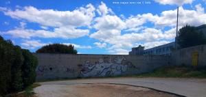 Lunch-Time und Graffiti in Molfetta – Italy