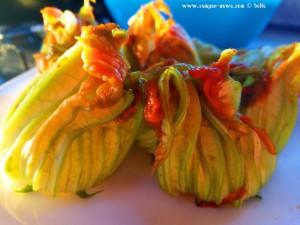 Zucchiniblüten für Dinner (16.05.2018) - Mola di Bari – Italy