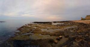 Um kurz nach 9 – Panorama-Bild mit der Automatik vom SmartPhone - Mola di Bari – Italy