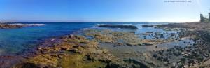 My View today - Mola di Bari – Italy → Panorama-Bild aus 5 Einzelbildern und Image Composite Editor