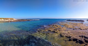 My View today - Mola di Bari – Italy → Panorama-Bild mit der Panorama-Automatik vom SmartPhone