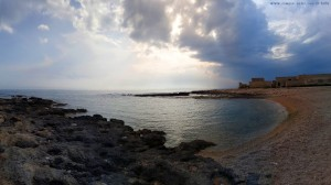 My View today - Gewitterstimmung in Mola di Bari – Italy