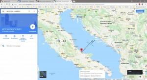 Sicht auf die ersten Inseln von Kroatien!