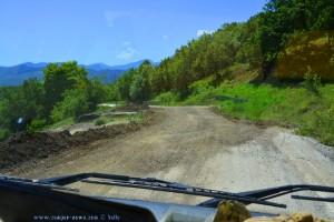 Unglaubliche Strassen in Griechenland