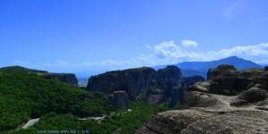 Meteôra – Greece – Panorama-Bild aus zwei Einzelbildern mit Image Composite Editor zusammen gesetzt