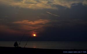 Sunset in Néoi Epivátes – Greece