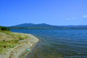 Kleiner Strand am Limní Vólvi – Greece