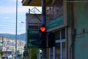 Noch nie gesehen - eine Herzampel - Kavala - Greece