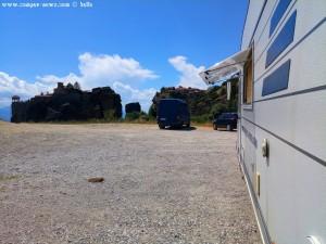 Parking in Meteôra - Unnamed Road - Kalampaka 422 00 - Greece – 525m – June 2018