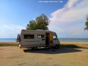 Parking in P. Kountouriotou 169 - Neoi Epivates 570 19 – Greece – June 2018