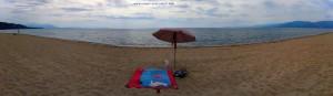 Mein Strandplatz am Portofino Beach – Greece