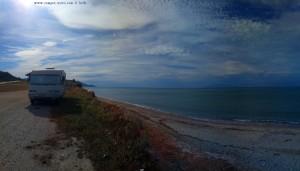 Heiss wird es heute werden Krioneri Beach – Greece