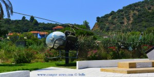 Helikopter am Porto Koufos – Greece