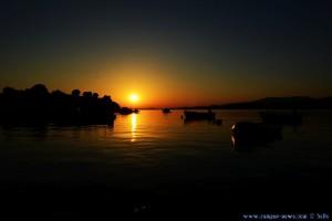 Sunset at Toroni Beach – Greece