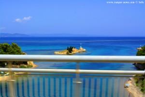 Kanal zur Halbinsel Kassandra – Greece