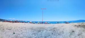 Voll heute am sonnigen Sonntag - Portofino Beach – Greece
