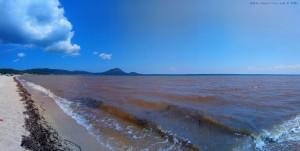Kein kristallklares Wasser mehr am Tristínika Beach – Greece