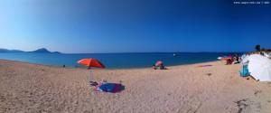 Mein Strandplatz am Tristínika Beach – Greece