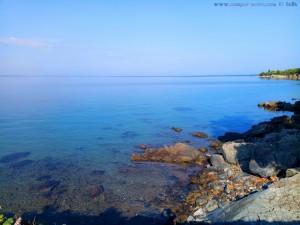Kristallklares Wasser auch hier - Metamórfosi – Greece
