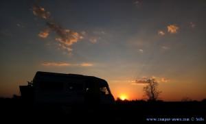 Sunset at Papa Aloni – Greece