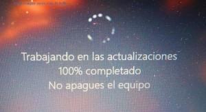 Noch immer ein bisschen spanisch auf meinem Laptop