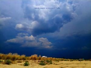 Schon wieder dunkelschwarz der Himmel - Agios Sotiras - Thermaikos Kolpos – Greece