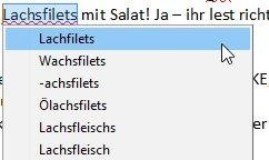 Lachsfilets – Lachfilets - Wachsfilets