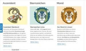 Aszedent Steinbock / Deaszedent Krebs