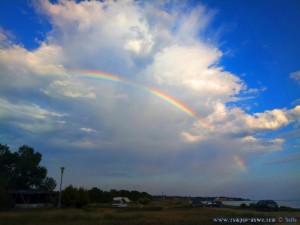 Regenbogen in Ikismos Lefkes – Greece