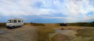 Parking at Unnamed Road - Paralia - Katerini Beach - Greece