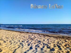 Meine Aussicht vom Strandplatz - Ikismos Lefkes - Greece